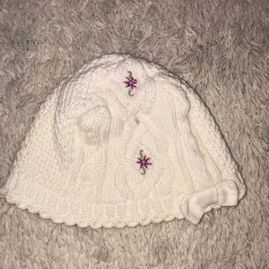 Janie and jack baby girl hat
